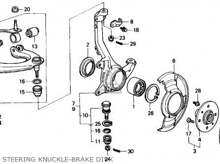 Honda CIVIC 1988 (J) 4DR LX (KA,KL) parts lists and schematics