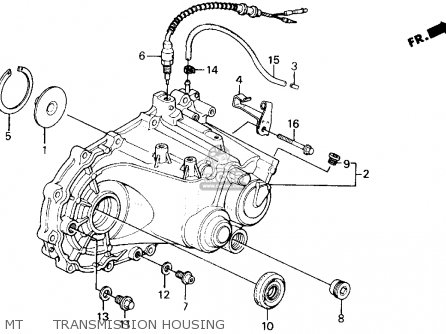 Honda Civic 1990 (l) 3dr Dx (ka,kl) parts list partsmanual