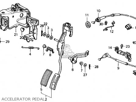 Honda CIVIC 1990 (L) 4DR EX (KA,KL) parts lists and schematics