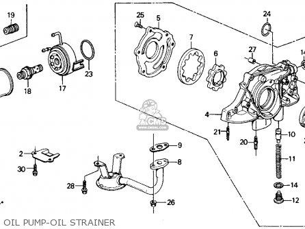Honda Civic 1990 (l) 4dr Ex (ka,kl) parts list partsmanual