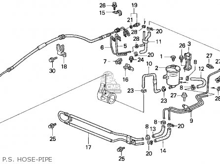 Honda Civic 1992 4dr Lx (ka,kl) parts list partsmanual