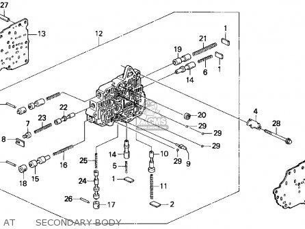 Honda Civic 1993 3dr Dx (ka,kl) parts list partsmanual