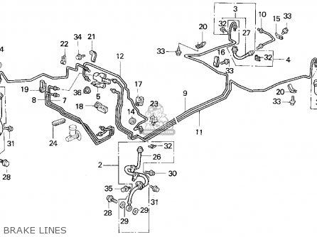 Honda Civic 1993 (p) 2dr Dx (ka,kl) parts list partsmanual