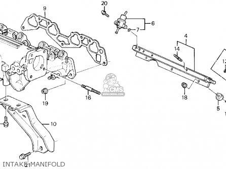 Honda Civic 1994 (r) 2dr Ex (ka,kl) parts list partsmanual