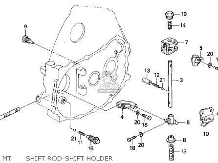 Honda Civic 1994 (r) 2dr Ex (ka,kl) parts list partsmanual