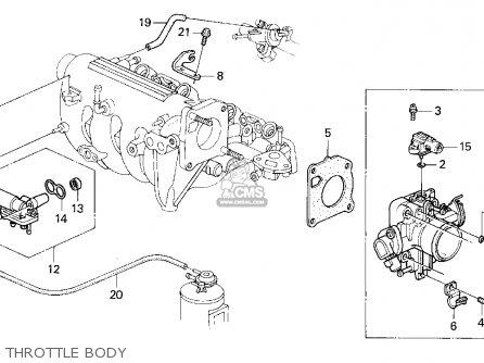 Honda CIVIC 1994 (R) 3DR CX (KA,KL) parts lists and schematics