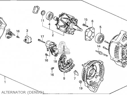 Diagram Of 2001 Honda Civic Alternator, Diagram, Free