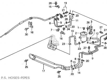 Honda Civic 1994 (r) 3dr Si (ka,kl) parts list partsmanual