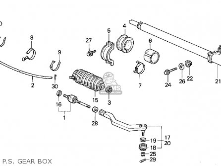 Honda CIVIC 1994 (R) 4DR LX ABS (KA,KL) parts lists and