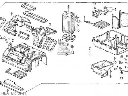 Honda CIVIC 1995 (S) 2DR EX (KA) parts lists and schematics