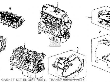 Honda Civic 1995 (s) 3dr Cx (ka) parts list partsmanual
