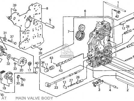 Honda CIVIC 1995 (S) 3DR DX (KA) parts lists and schematics