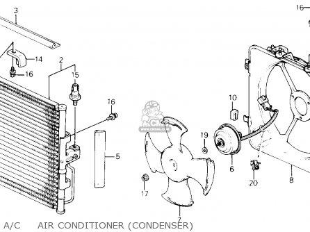 Honda CIVIC 1995 (S) 3DR SI (KA) parts lists and schematics