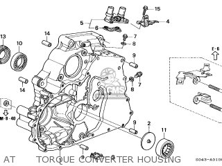 Honda CIVIC 1996 (T) 4DR LX (KA,KL) parts lists and schematics