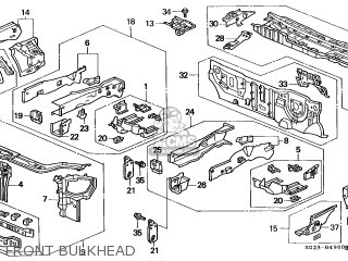 Honda CIVIC 1999 (X) 2DR EX (KA) parts lists and schematics