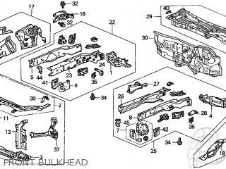 Honda CIVIC 2001 (1) 2DR HX (KL,KA) parts lists and schematics