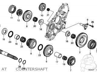 Honda CIVIC 2001 (1) 4DR DX SIDE SRS (KA,KL) parts lists