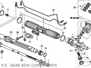 Honda CIVIC 2001 (1) 4DR EX SIDE SRS (KA,KL) parts lists