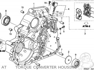 Honda CIVIC 2001 (1) 4DR LX SIDE SRS (KA,KL) parts lists