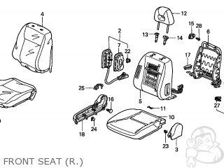 Honda CIVIC 2004 (4) 2DR EX (KA) parts lists and schematics
