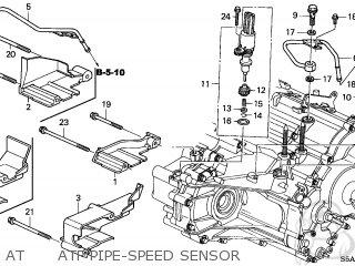 Honda CIVIC 2004 (4). 4DR DX SIDE SRS (KA) parts lists and