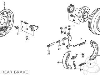 Honda CIVIC 2004 (4) 4DR LX (KA) parts lists and schematics
