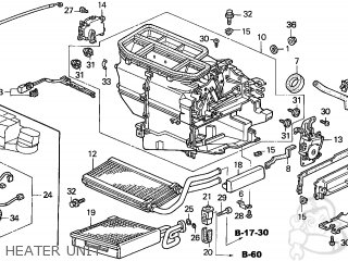Honda CIVIC 2005 (5) 4DR EX SIDE SRS (KA) parts lists and