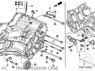 Honda CIVIC 2005 (5) 4DR LX (KA) parts lists and schematics