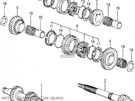 Honda Civic Htbk/wagon 1980 (a) 3dr1300 (ka) parts list