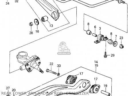 Honda CIVIC HTBK/WAGON 1980 (A) 3DR1300 (KA) parts lists
