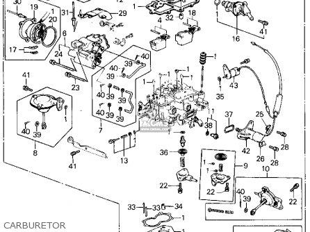 Honda Civic Htbk/wagon 1982 3dr Dx 1500 (ka,kh,kl) parts