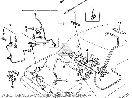 Honda CIVIC HTBK/WAGON 1982 (C) 3DR DX 1500 (KA,KH,KL