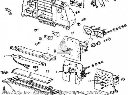 Honda CIVIC HTBK/WAGON 1982 (C) 3DR1300 (KA,KH,KL) parts