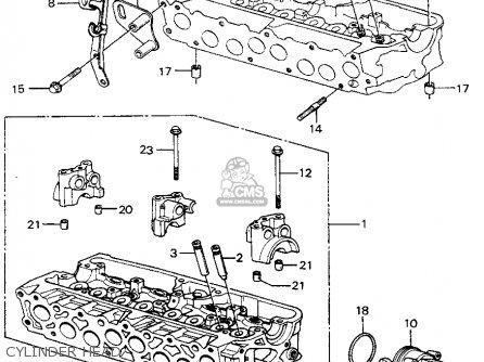 Honda Civic Htbk/wagon 1983 3dr Dx 1500 (ka,kh,kl) parts