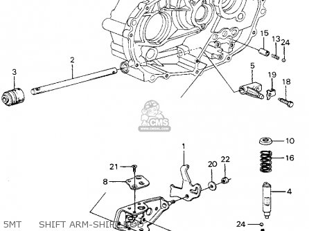 Honda Civic Htbk/wagon 1983 3dr S 1500 (ka,kh,kl) parts