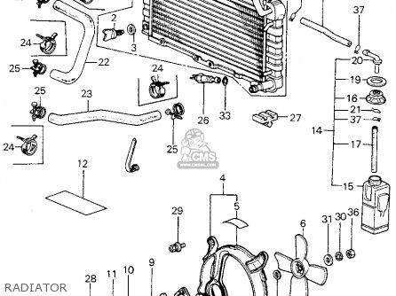 Honda Civic Htbk/wagon 1983 3dr1300 (ka,kh,kl) parts list