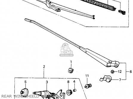 Honda CIVIC HTBK/WAGON 1983 (D) 3DR FE 1300 (KA,KH,KL