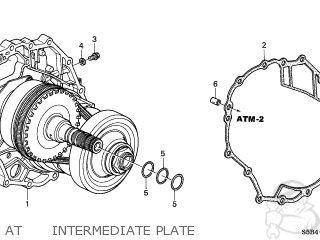 Honda CIVIC HYBRID 2004 (4) 4DR HYBRID (KA,KL) parts lists