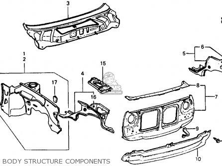99 Honda Civic Si Fuse Box. Honda. Auto Fuse Box Diagram