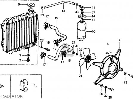 Honda CIVIC SDN/WGN 1978 2DR1500 (KA,KH,KL) parts lists