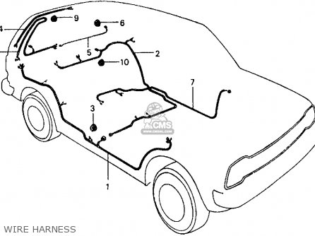 Honda CIVIC SDN/WGN 1978 WGN (KA,KH,KL) parts lists and