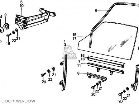 Honda CIVIC SEDAN 1975 3DR1500 (KA,KL) parts lists and