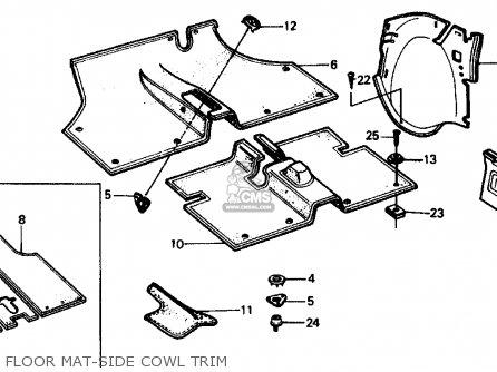 Honda CIVIC SEDAN 1976 2DR1500 (KA,KL) parts lists and