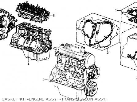 Honda Civic Sedan 1976 2dr1500 (ka,kl) parts list