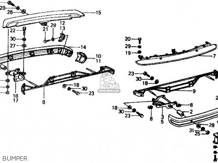 Honda CIVIC WAGON 1975 WGN (KA,KL) parts lists and schematics