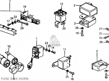 Honda Civic Wagon 1975 Wgn (ka,kl) parts list partsmanual