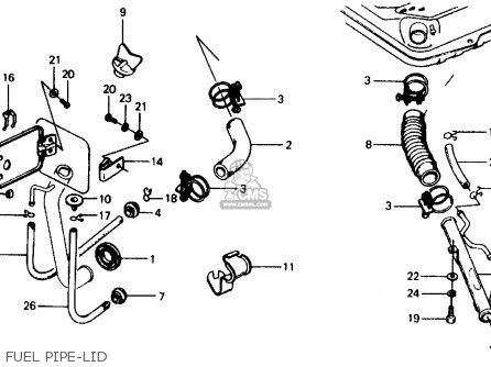 Honda Civic Wagon 1976 Wgn (ka,kl) parts list partsmanual