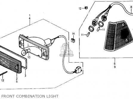 Honda Civic Wagon 1984 (e) Wgn Dx (ka,kl) parts list