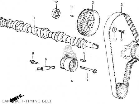 Honda Civic Wagon 1986 Wgn Dx (ka,kl) parts list