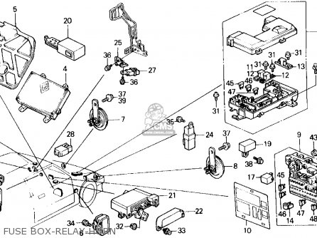 Honda Civic Wagon 1988 Wgn Dx (ka,kl) parts list
